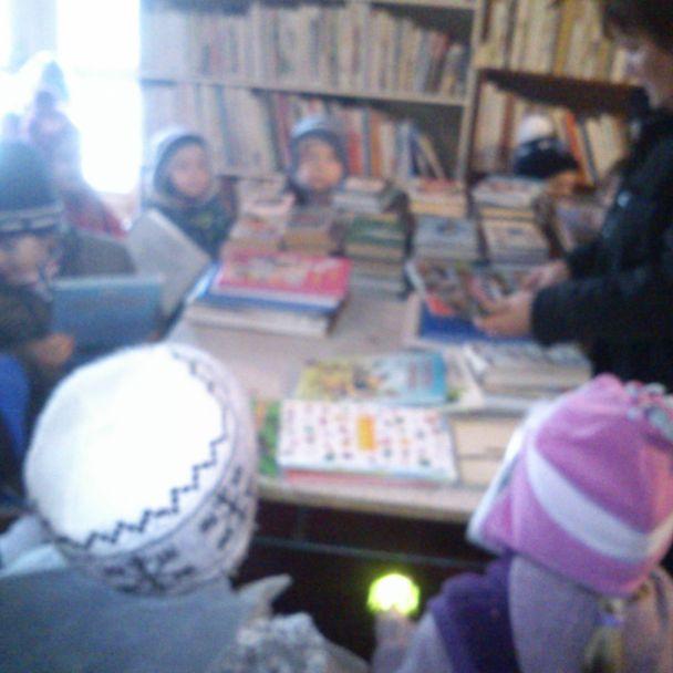 Návšteva knižnice 2013