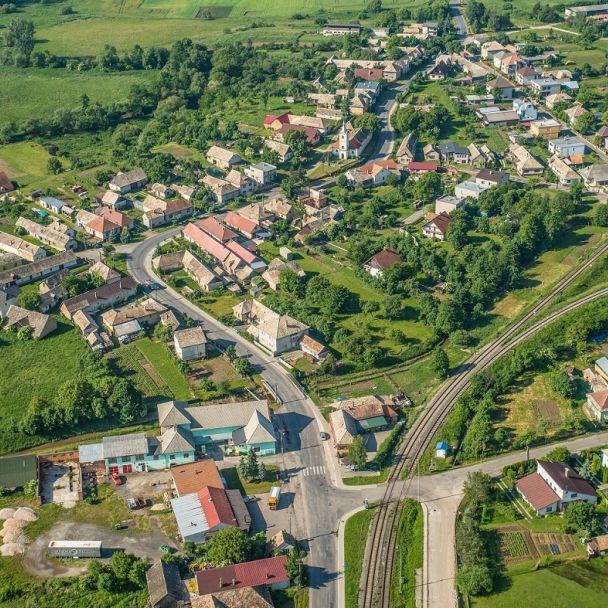 Letecké zábery Breznička