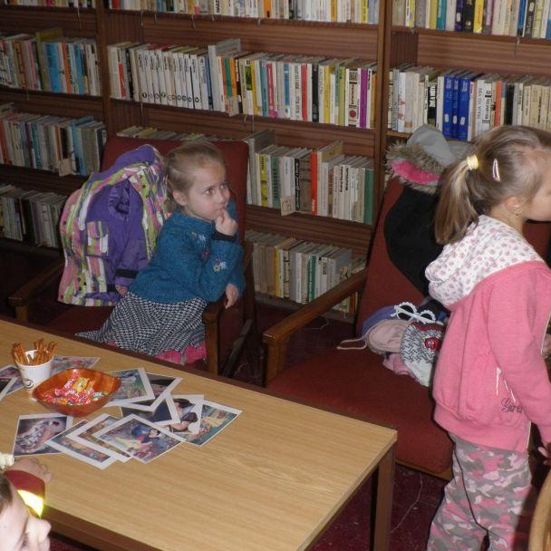 Návšteva knižnice deti MŠ 2018