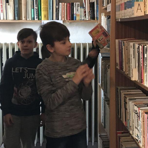 Návšteva knižnice žiaci ZŠ 2018