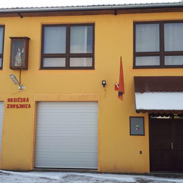 Rekonštrukcia požiarnej zbrojnice 2018 - dotácia z MVSR