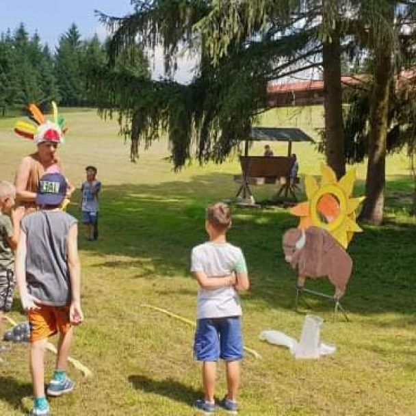 Indiánsky športový deň - ZŠ a MŠ Breznička 2020