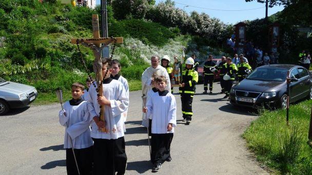 Oslava Sv. Floriána 2018 v Brezničke - Hasiči