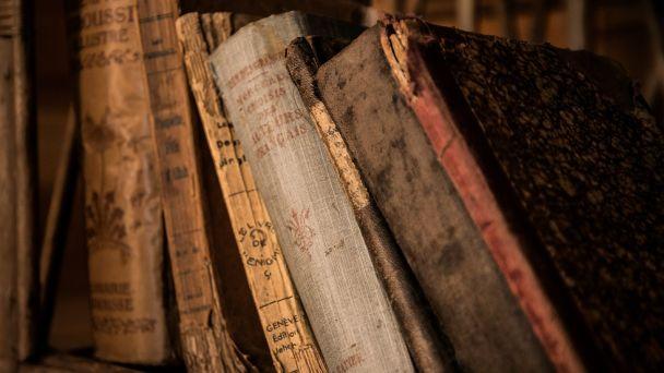 Register kníh v knižnici Breznička
