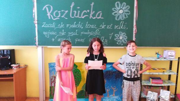 Rozlúčka žiakov ZŠ Breznička 2020