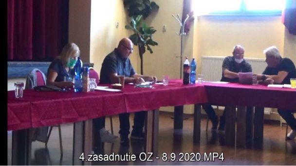 4. zasadnutie OZ v Brezničke
